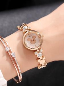 Bracelet Watches Dress Crystal Rhinestone Gold Beautiful Silver Bling Trendy Womens Ladies