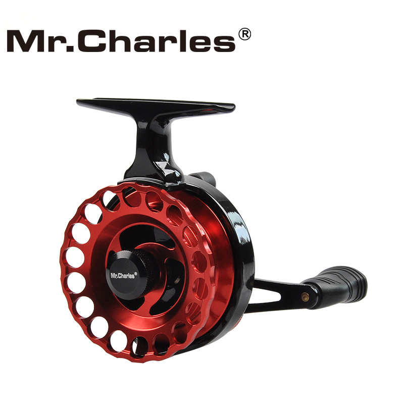 Mr.Charles Nytt NND-HS65 Gear Ratio 3.6: 1Semimetal Fiske Venstre / Høyre Hånd Fly Fiske Reel Raft Ice Fishing Reel Fly Reel