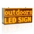 32*64 см Сильный Желтый Программируемый СВЕТОДИОДНЫЙ знак с прокручивающимся дисплеем для P10 полностью наружного использования светодиодный...