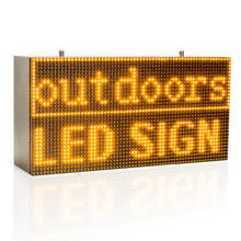 32*64cm Strong Yellow Programmable Led Sign with Scrolling Message Display For P10 FULLY Outdoor Use led display