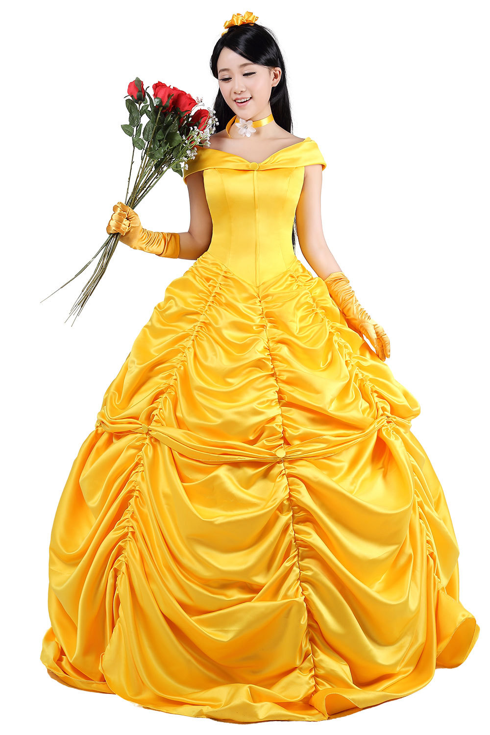 Belle Costume Adult Princess Beauty And Beast