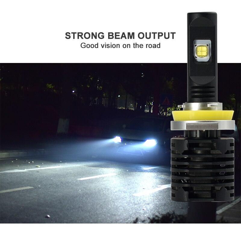 CNSUNNYLIGHT Canbus LED Headlight Car Bulbs H7 H11 9006 9005 H4 D1 wLUMILEDS MX70 Chips 14000Lm 5700K No Error Automotivo Light (8)