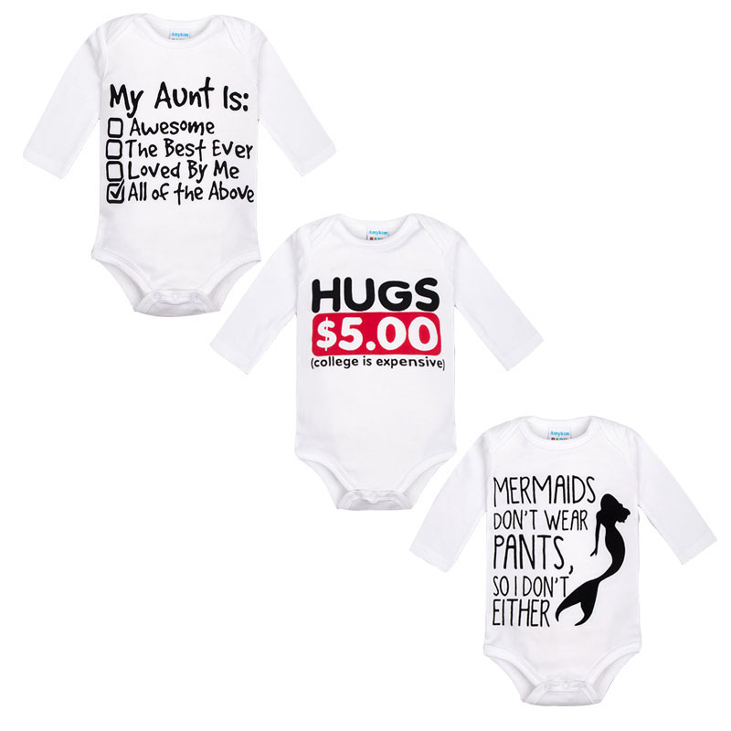Fashion Baby Romper Newborn Baby Clothes Body Long Sleeve Jumpsuit Cotton Cartoon Printed Bebe Boy Girl costume for baby new 2017 panda cute baby boy romper long sleeve cotton jumpsuit baby cartoon printed rompers newborn baby boy girl clothes white