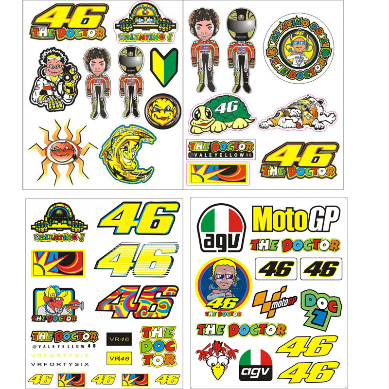 Valentino Rossi Sticker Reviews - Online Shopping ... Valentino Rossi The Doctor Font