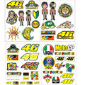 Valentino Rossi Sticker 46 VR46 The Doctor For Yamaha Helmet Large Kit Motocross Moto Motorcycles Bike Skate Board Luggage