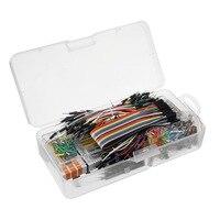 Wholesale Price Power Supply Module 830 Hole Breadboard Resistor Capacitor LED Kit For Arduino Beginner