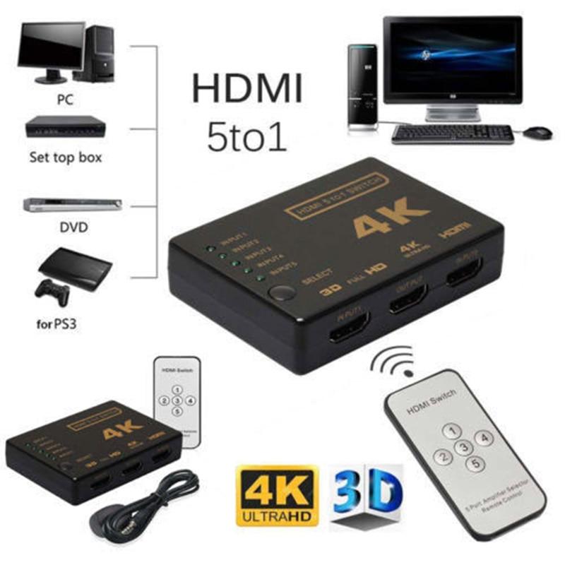 TV Stick casa Audio Video equipos de control remoto IR Centro conmutador divisor para Chromecast Android Apple HDTV Miracast Anycast de Youtube