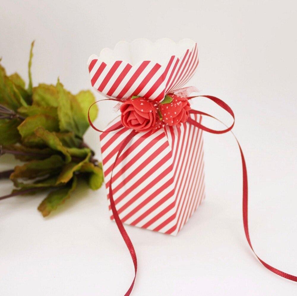 Blue / Purple / Pink / Red European Vase flower Wedding Favors Candy ...