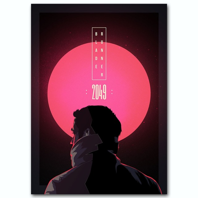 Плакат Гобелен Бегущий по лезвию 2049 Материал Шелк вариант 2