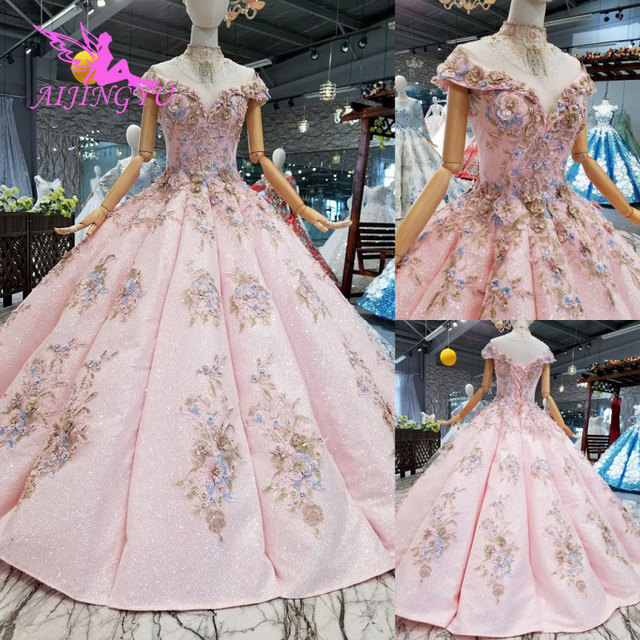 AIJINGYU Where To Buy Sexy Dresses Real Newest Lace German Bridal Cheap Beautiful Elegant Gowns Wedding Dress Sleeve