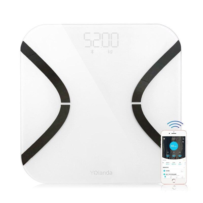 Индекс тела 35 оригинальный Иоланда мини Smart Вес масштаба жира весы электронные весы Ми весы напольные Поддержка Bluetooth App