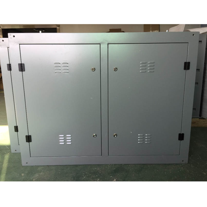 Outdoor P10 960x960mm Iron Cabinet Rental Full Color LED Display Screen