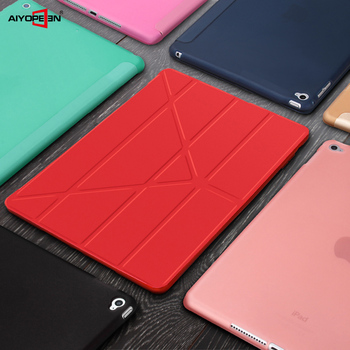 TPU Soft Smart Case For Ipad mini 4 5 ,Aiyopeen Flip Stand PU Leather auto wake up/sleep Cover for iPad Mini 1 2 3 case protective flip open pu case w stand auto sleep for 8 asus fonepad 8 fe380cg red