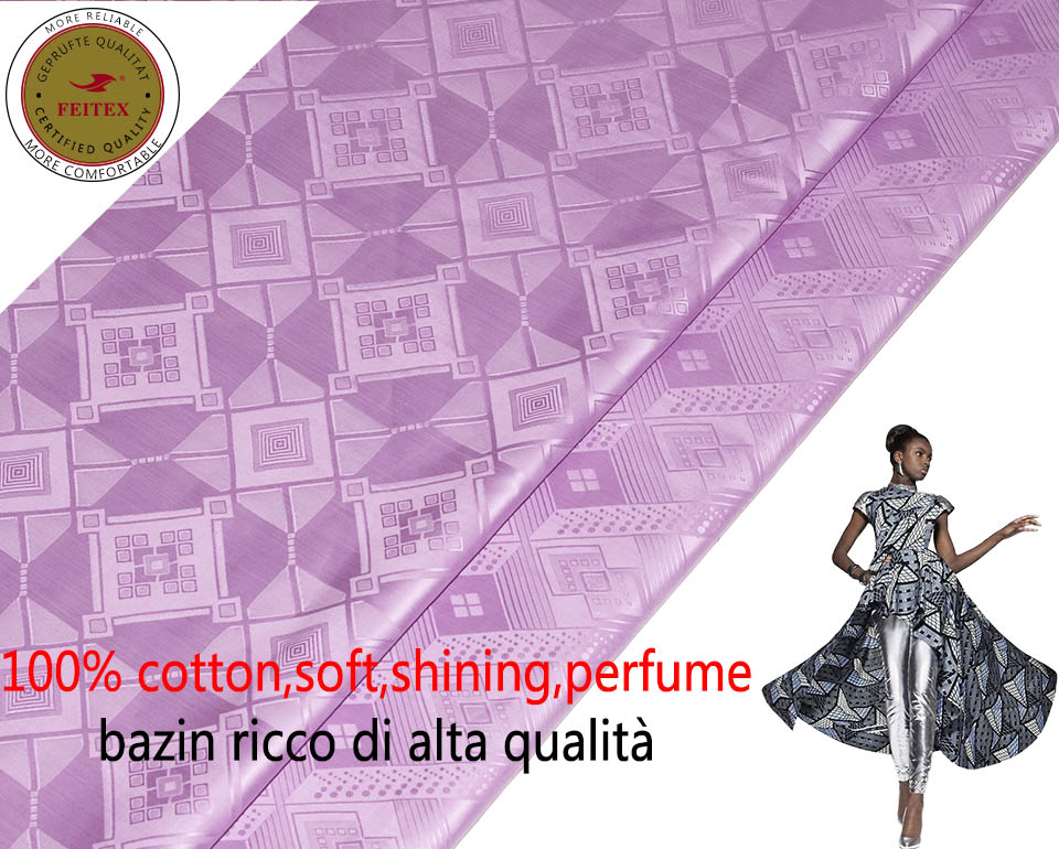 2019 Austria 10Meters Bag New Pattern African Garment Fabric Shadda Damask Free Shipping Guinea Brocade Fabric