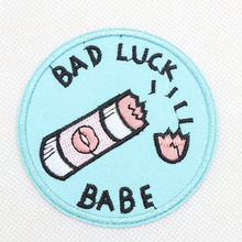 1Pcs DIY Patch for Jeans Jackets Embroidered Patch Cosmic Babe for Clothing Iron Sewing Applique Shoes Bags Stickers Badge(China)