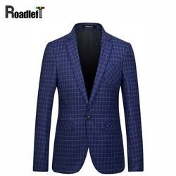 2017 spring autumn mens fashion casual plaid pattern blazer men one button slim fit suit jacket.jpg 250x250
