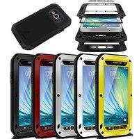 Original Love Mei Life Waterproof Aluminum Metal Case for SAMSUNG Galaxy S3 S5 S6 S7 Note 3 4 5 A3 A5 A7 A8000 A9 Alpha Cover