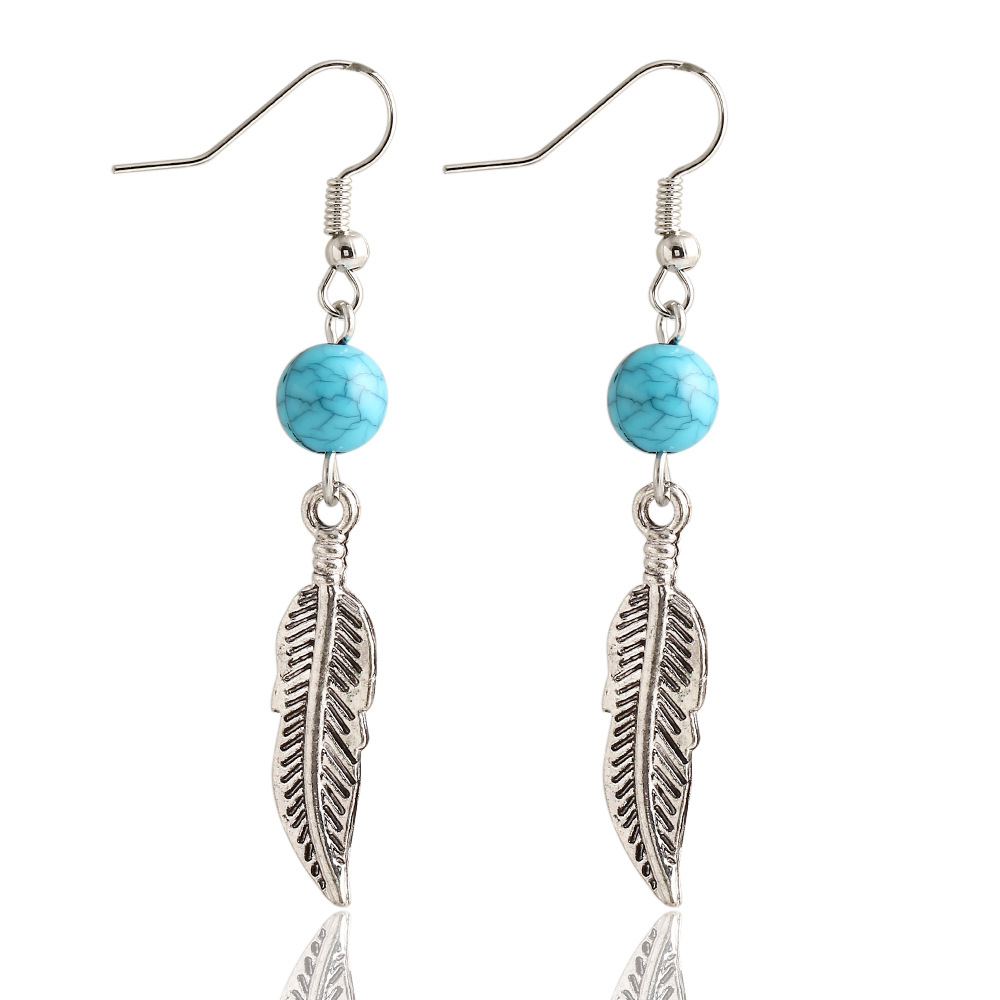 Compare S On Silver Leaf Earrings Online Ping Low