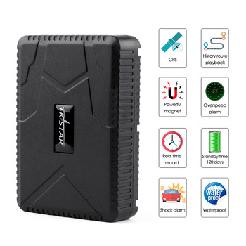 GPS Car Tracker Vehicle GPS Locator TK915 Waterproof 10000mAh Battery Standby 120 Days Magnet Dropped Alarm Free Web APP Track image