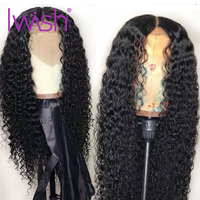Curly Lace Front Human Hair Wig Human Hair Wigs Swiss Lace Wigs Malaysian Remy Hair 150 Destiny Iwish