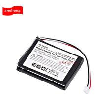1200 mah batterie für TomTom one V2 V3 V5 XL Europa Dach TML Reiter IQ Routen S4L Reiter 2nd 4K00. 100 li-ion Ersatz