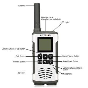 Image 3 - Retevis RT45 2個ポータブルトランシーバー0.5ワットpmr PMR446 frs vox便利な双方向ラジオ緊急家庭モトローラtlkr T50