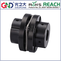 GNT 45# Steel Stepped Single Diaphragm Keyway Series  45# Steel shaft coupling  D19mm to D68mm; L20mm to 53mm
