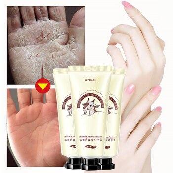 LAMILEE GoatMilk Hand Cream Anti-Dryness Moisturizing Anti-chapping whitening Hand care 40g Hydrating for Winter Repair