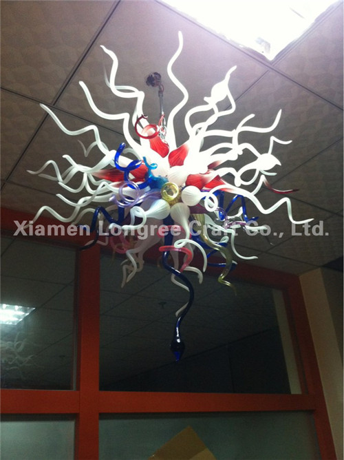 Free Shipping  Ceiling Decorative Hand Blown Murano Glass LED Chandeliers for SaleFree Shipping  Ceiling Decorative Hand Blown Murano Glass LED Chandeliers for Sale
