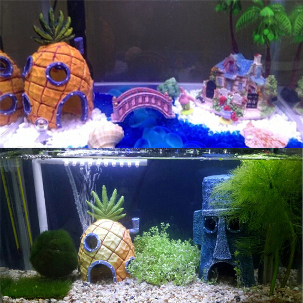 Fish aquarium for sale in pakistan - Cartoon Resin Castle Aquariums Castle Decoration Aquarium Fish Tank Tower China Mainland