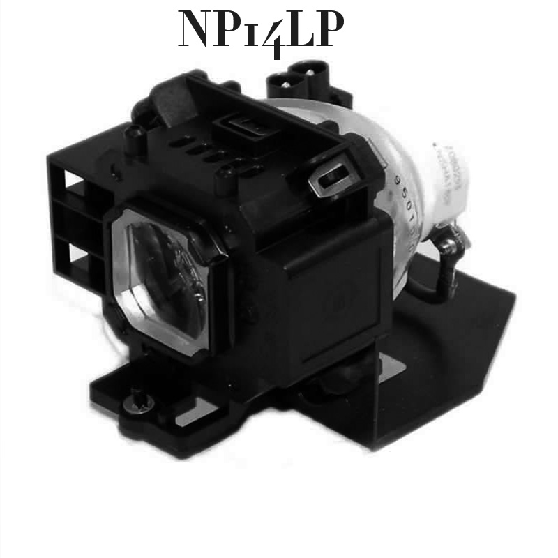 Free Shipping Replacement Projector Lamp with housing  NP14LP  For NEC NP305 NP310 NP405 NP410 NP510 projector free shipping original projector lamp with housing lt30lp 50029555 for nec lt25 lt30 lt25g lt30g projectors