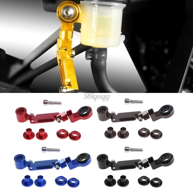 Universal Motorcycle Stent Bracket For CNC Brake Clutch Master Cylinder Fluid Reservoir Drop shipping