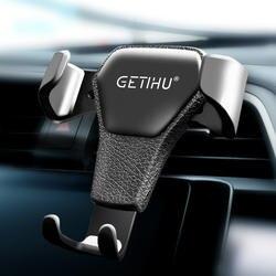 Автомобильный держатель GETIHU Gravity для телефона в Автомобиле вентиляционное отверстие крепление без магнитного мобильного телефона