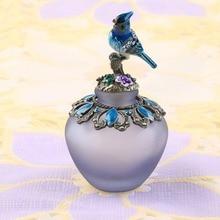 Винтажный ручной работы пустой стеклянный флакон духов Свадебный декор коллекционный подарок 40 мл