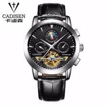 2016 Nuevo Reloj Hombres Reloj Automático Esquelético de Lujo Casual de Negocios Reloj Mecánico Relogio Masculino Montre Reloj Para Hombre Relojes