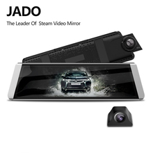JADO D800s X5 Car Dvr Stream Rearview Mirror Camera LDWS GPS Track 10 IPS Touch Screen Full HD 1080P Car Dvrs Recorder Dash cam jado d800s x6 stream rearview mirror ldws gps track 10 ips touch screen full hd 1080p car dvrs dash cam