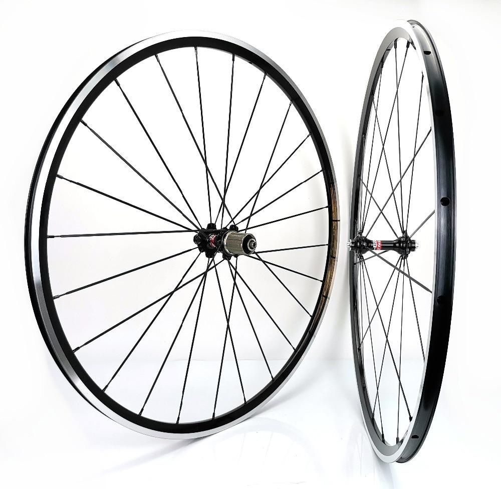 1370g Kinlin XR200 road bike wheels 700C 19mm width road bicycle aluminum alloy wheelset super light