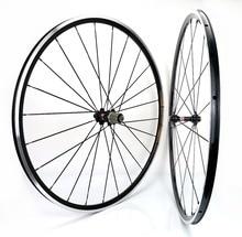 1370g Kinlin XR200 כביש אופני גלגלי 700C 19mm רוחב כביש אופניים אלומיניום סגסוגת זוג גלגלים סופר אור טיפוס זוג גלגלים