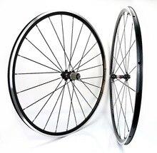 1370g Kinlin XR200 rennrad räder 700C 19mm breite straße fahrrad aluminium legierung laufradsatz super licht Klettern laufradsatz