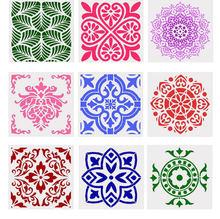 1 шт трафарет декоративный кружевной многофункциональный многоразовый