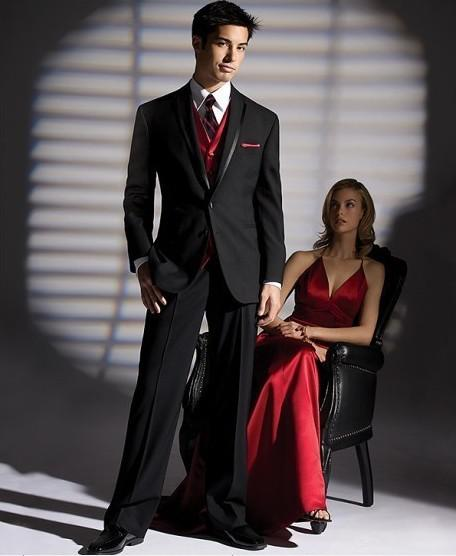 High Quality Red Black Suits Promotion-Shop for High Quality