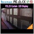 Leeman прозрачный хорошая яркий эффект программа из светодиодов полоска сетчатая ткань занавески экран P10 / P12 / P16 / P20 / P31.75 / P37.5 / P40mm