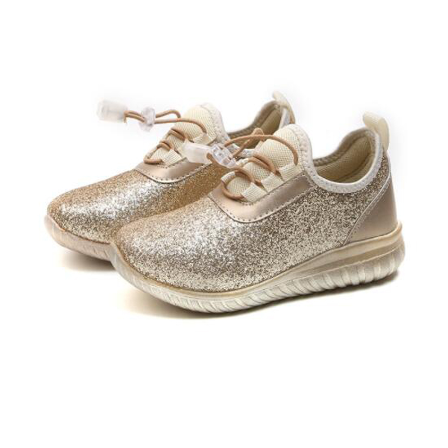 Kids Sneakers Girl Sequin Fashion