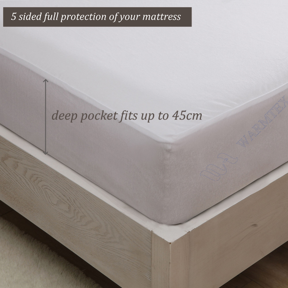 queen size 150x200cm high quality natural fabric Reversible Tencel Cotton cloth Mattress Protector/ Mattress Cover Waterproof
