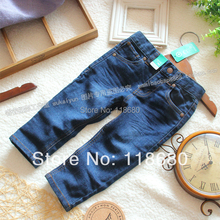 Free shipping spring autumn kids jeans baby clothes child Denim pants boys and girls all-match casual pants