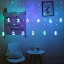 Романтическая светодиодная гирлянда wish ball теплая белая садовая