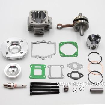 High Performance 44mm Big Bore Top End Kit 49cc 2 Stroke Mini ATV Quad Dirt  Pocket Bike New