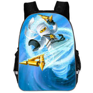 School-Bags Backpack Ninjago-Game Children Teenagers for Boy 3d-Printing Sac Dos Enfant