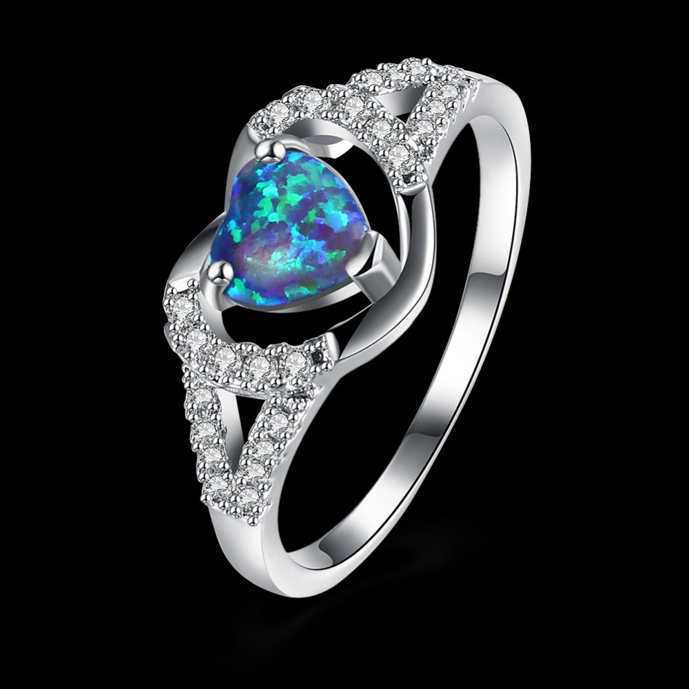 Elegant Design 925 Sterling Silver Dark Blue Opal AAA ...