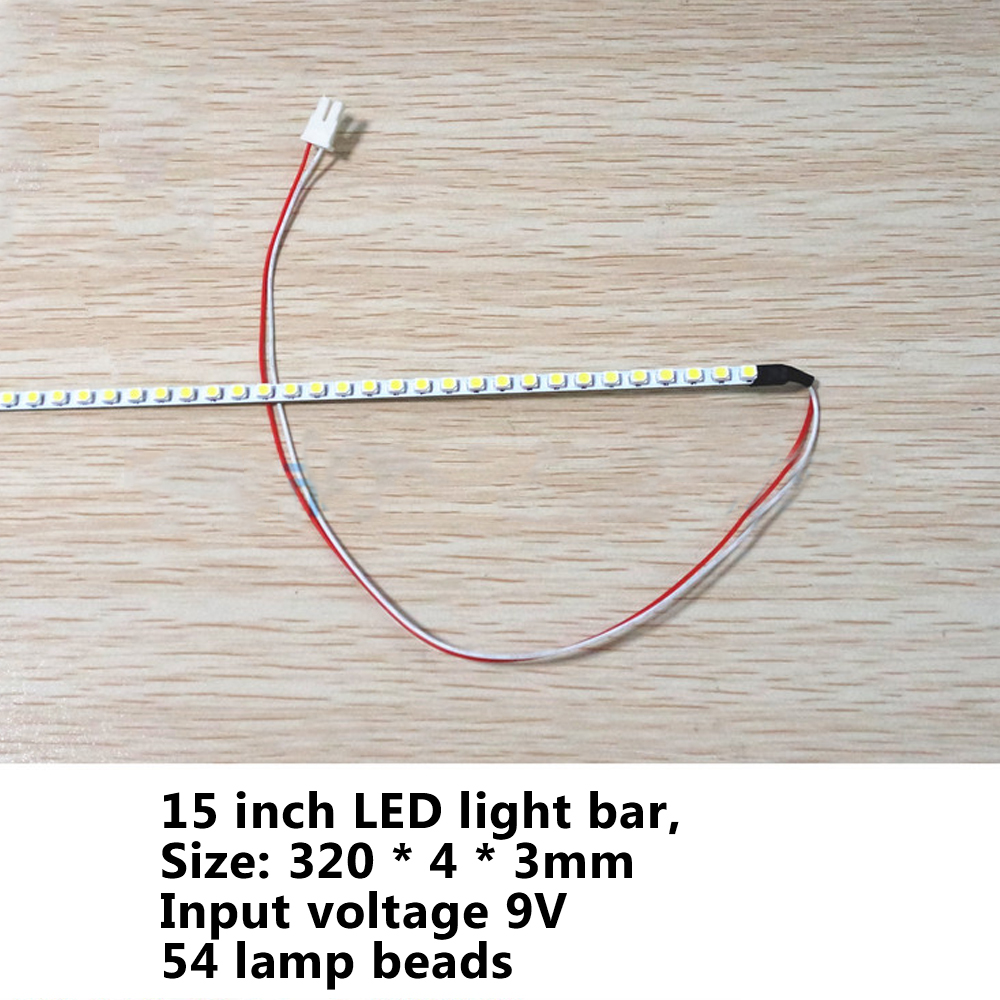 LCD / Notebook 15 inch screen CCFL lamp modified LED backlight strip 3528 backlight bar